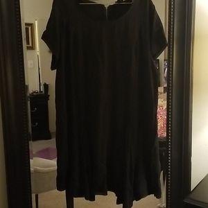 TORRID Black knee length casual dress